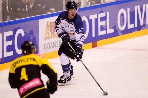 Jan Krasowski zdobył dla gdańszczan drugą bramkę we wtorkowym meczu.