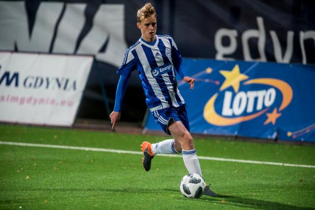 W rywalizacji z drugą drużyną Lechii jedyną bramkę dla Bałtyku zdobył Filip Sobiecki.
