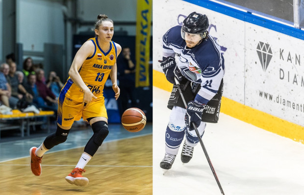 Od lewej: Anna Makurat i Petr Polodna.