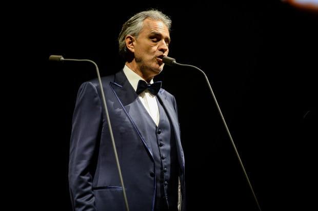 Andrea Bocelli skradł serca słuchaczy od pierwszej chwili.