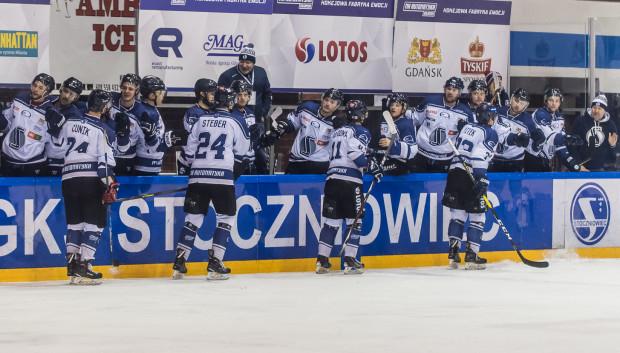 Hokeiści MH Automatyki Gdańsk pewnie wygrali baraże o play-off. Zagrają w nim po raz pierwszy od powrotu do elity, w której występują trzeci sezon.