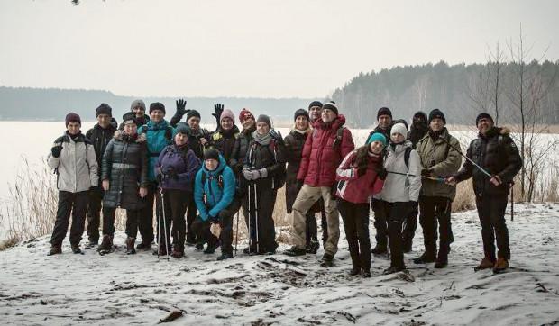 Zimowa wędrówka dookoła jezior Wdzydzkich