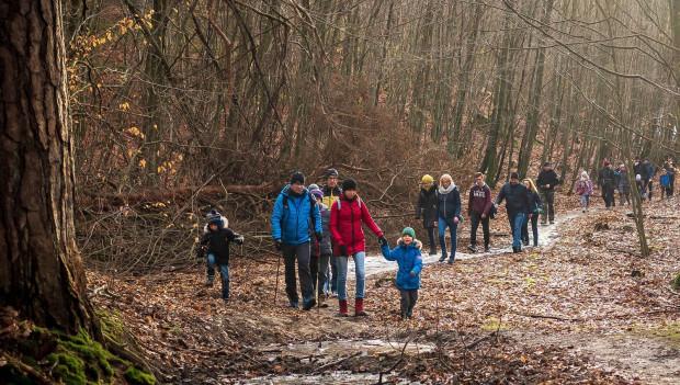 Rodzinna wędrówka w ramach programu Aktywuj się w Gdańsku