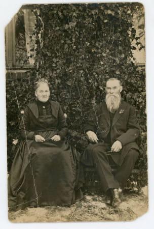 Złote Gody rodziców Jana Radtkego - Julianny i Józefa, 1919 r. Ze zbiorów Muzeum Miasta Gdyni)
