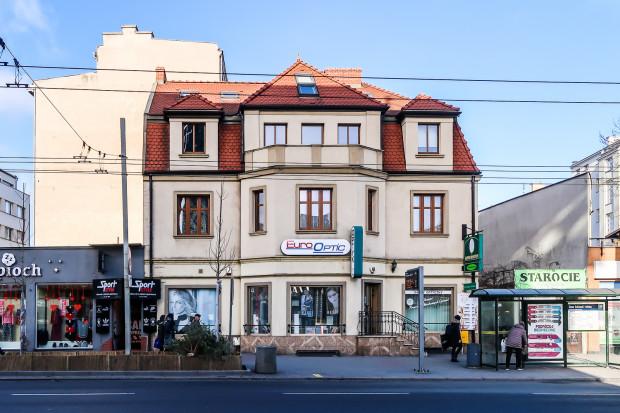 Dom przy ulicy 10 lutego 4, który Jan Radtke wybudował dla swoich sióstr.
