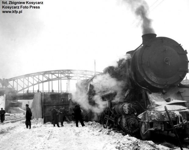 Zderzenie pociągów towarowych w Gdańsku, do którego doszło 14 lutego 1963 r.