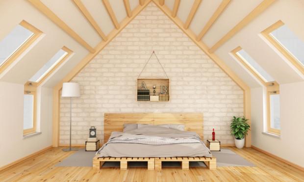 Sypialnia na poddaszu to marzenie wielu osób.