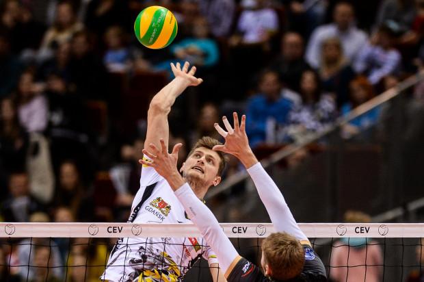 Piotr Nowakowski pokazał w sobotę równą grę w bloku, ataku, jak i zagrywce, co przyniosło mu tytuł najlepszego gracza meczu.