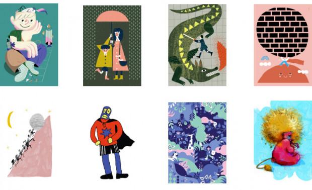 Ilustracje będą wystawione w kawiarni do 24 marca.