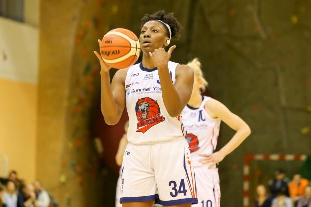 Tiffany Clarke była podporą Politechniki zdobywają w Łodzi 28 punktów i 15 zbiórek.