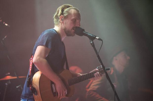 Paweł Domagała przez cały wieczór rozśmieszał i kokietował publiczność.