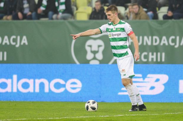 Michał Nalepa należy do najbardziej zapracowanych piłkarzy Lechii Gdańsk w tym sezonie, co obrońcę bardzo cieszy.