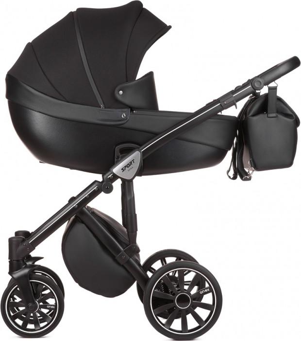 Wózek Anex Sport - model z żelowymi kołami.