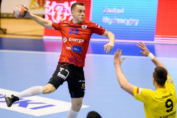 Adrian Kondratiuk zdobył w sobotę sześć bramek dla Wybrzeża.