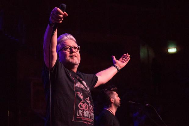 Artur Gadowski dał bardzo energetyczny koncert, podczas którego wykonał wszystkie największe przeboje zespołu.