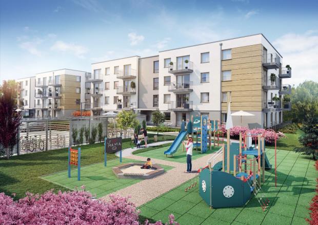 Osiedle przy Błoniach to inwestycja, powstająca w otoczeniu malowniczych łąk, na skrzyżowaniu ulic Dębogórskiej i Gdańskiej w Rumi Janowo.