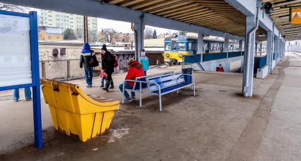 Zmiany czekają m.in. peron SKM Leszczynki.