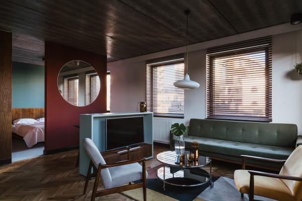 Projektanci Willi Wincent szukali inspiracji do wnętrz m.in. w Muzeum Miasta Gdyni, w prostocie i funkcjonalizmie modernizmu oraz we wzornictwie lat 30.