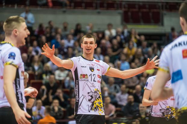 Maciej Muzaj wydatnie przyczynił się do zwycięstwa Trefla w Olsztynie.