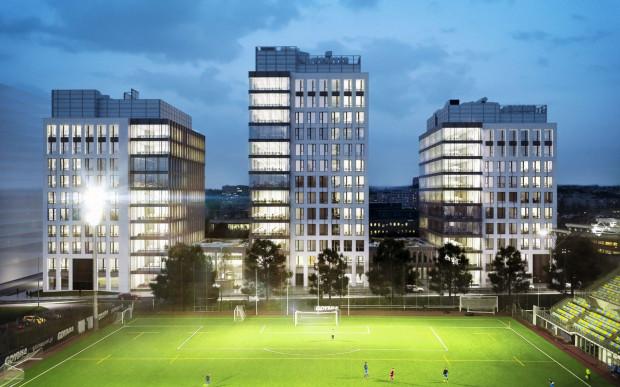 Kompleks 3T Office Park będzie gotowy za dwa lata.