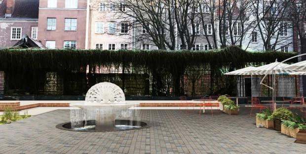 Nowy wygląd ma zyskać fontanna na skwerku przy ul. Bogusławskiego w Gdańsku.