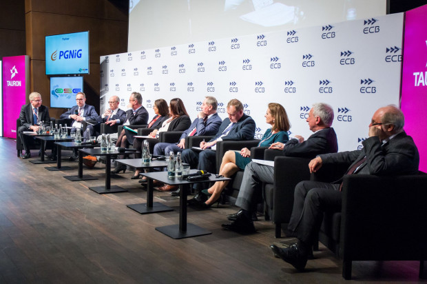 Sesja plenarna VII Ogólnopolskiego Szczytu Energetycznego.