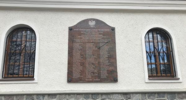 Okna zostały wymienione także w kaplicy.