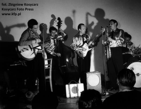 Pierwszy koncert zespołu Rhytm&Blues w gdańskim klubie Rudy Kot w 1959 roku.