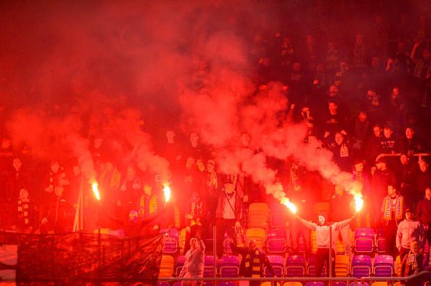Trybuny podczas meczu Arka Gdynia - Śląsk Wrocław