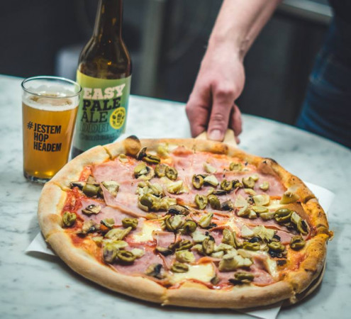 AleBrowar Sopot to miejsce na piwo rzemieślnicze i pizzę.