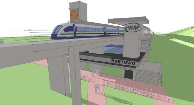 Od poniedziałku już nie Rakoczego, a Brętowo będzie nazywała się stacja Kolei Metropolitalnej.