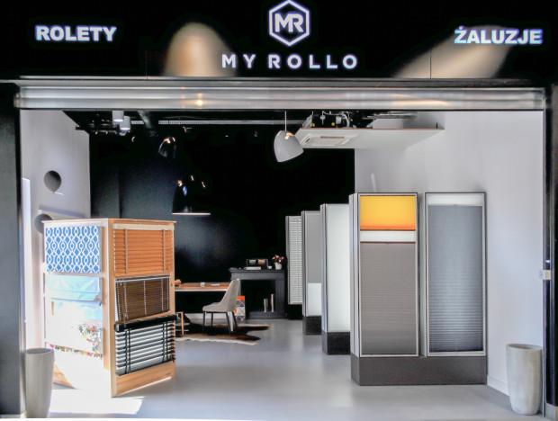 Sklep stacjonarny Myrollo w Galerii Wnętrz City Meble