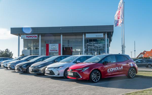 Wszystkie wersje nadwoziowe Corolli dostępne w salonach Toyota Walder.