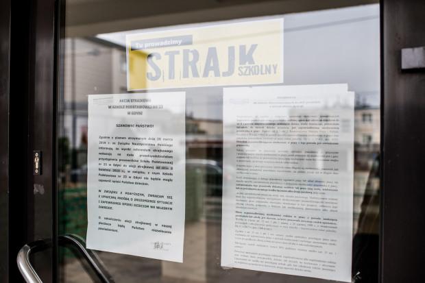 Ogólnopolski strajk nauczycieli rozpoczął się 8 kwietnia.