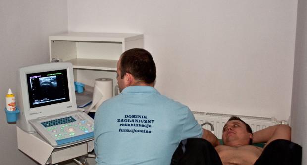 """Sonofeedback to """"trzecie oko"""", którym rehabilitanci mogą zajrzeć w głąb tkanek pacjenta."""