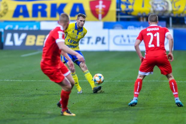 Obrońca Frederik Helstrup czekał na gola w Arce 61 oficjalnych spotkań. Duńczyk liczy na to, że jeszcze w tym sezonie zdoła poprawić ten dorobek i przyczynić się do utrzymania w ekstraklasie.