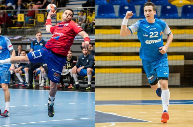 Kelian Janikowski (z lewej) oraz Rafał Rychlewski (z prawej) zgodnie przyznają, że środowe wygrane zapewnią im komfort psychiczny przed ostatnimi meczami o utrzymanie w PGNiG Superlidze.