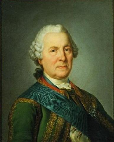 Dowódca wojsk rosyjskich oblegających Gdańsk Burkhard Christoph von Münnich.