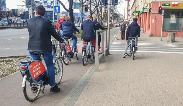 W ostatnich dniach nieco wzrosła dostępność rowerów, ale nadal nie udało się osiągnąć poziomu deklarowanego dla I etapu, który miał być gotowy w listopadzie 2018 r.