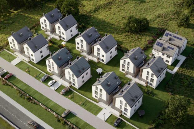 Na dachu każdego budynku znajdą się panele słoneczne, pozwalające na duże oszczędności podczas użytkowania mieszkania.