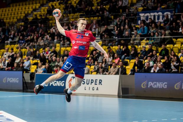 Adrian Kondratiuk poprowadził gdańszczan do wygranej w Lubinie.