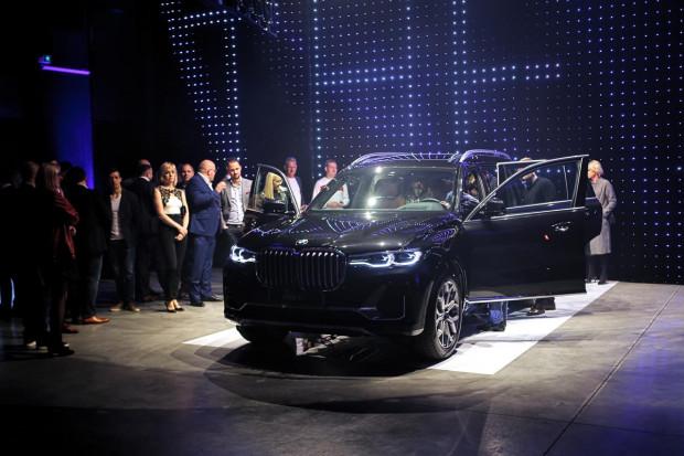 Premierowy pokaz BMW X7.