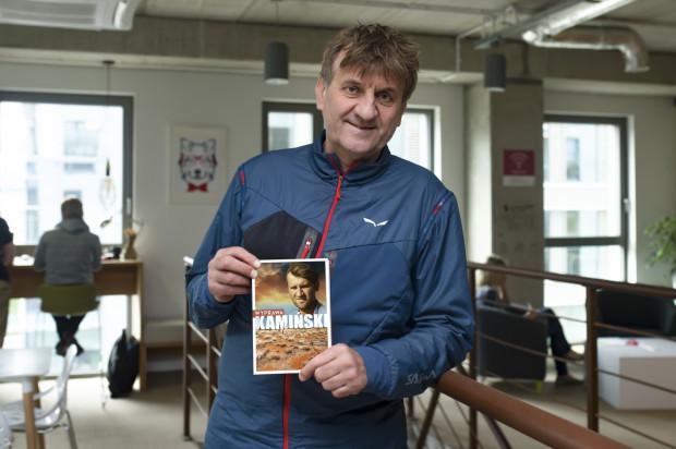 """Od 14 maja w księgarniach znajduje się nowe wydanie książki """"Wyprawa"""" autorstwa Marka Kamińskiego."""