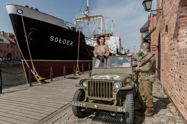 """Na Ołowiance i """"Sołdku"""" będzie można spotkać amerykańskich komandosów z czasów II wojny światowej."""