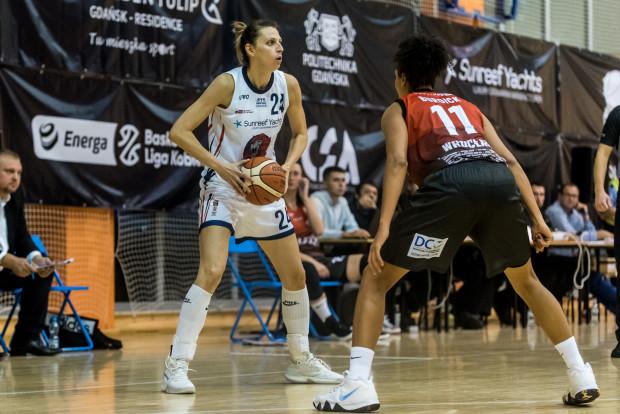 Martyna Koc to pierwsza koszykarka Politechniki Gdańskiej, która przedłużyła kontrakt po zakończeniu sezonu.
