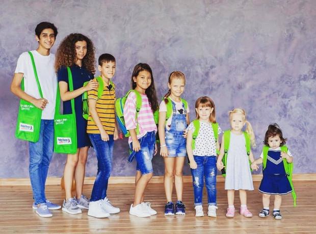 W grupach są dzieci od niemowlaków po nastolatków.