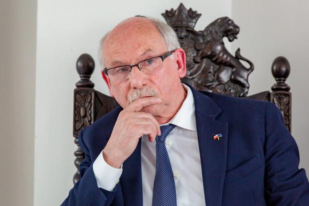 Janusz Lewandowski z KE.