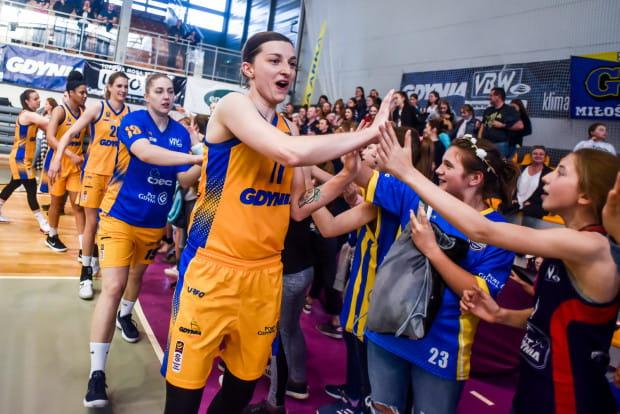 Aldona Morawiec to kolejna koszykarka Arki Gdynia, która przedłużyła kontrakt.