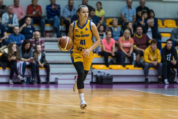 Barbora Balintova była kluczową postacią Arki Gdynia w fazie play-off, a 4 dni po zakończeniu sezonu przedłużyła kontrakt z Arką Gdynia.
