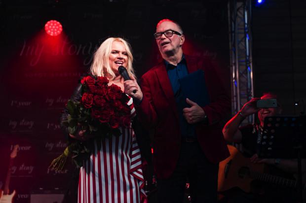 Katarzyna Figura i Krzysztof Matuszewski, obydwoje występują na deskach Teatru Wybrzeże.
